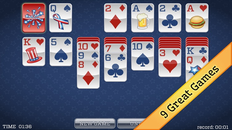 4th of July Solitaire screenshot-3