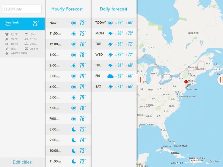 NOAA Radar & Hurricane inFocus - by Clear Day™ (Storm Alerts, Hurricane Tracker & Weather Forecast) screenshot-3