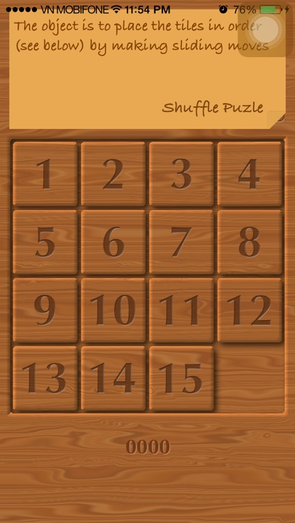 15 puzzle - Gem Puzzle, Boss Puzzle, Game of Fifteen, Mystic Square screenshot-1