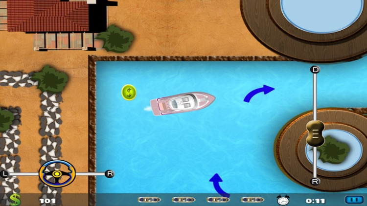 Adventure Bay Parking Tycoon FREE - Real Sailing Boat Island Dock-ing Game