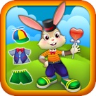 Cute Bouncy Bunny Rabbit - Dressing up Game for Kids - Free Version icon