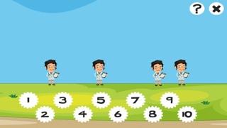 123 Animitiertes計數遊戲為幼兒:我的第一個數學問題。到10學在醫院數屏幕截圖2
