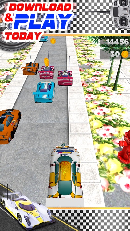 3D Remote Control Car Racing Game with Top RC Driving Boys Adventure Games FREE screenshot-4
