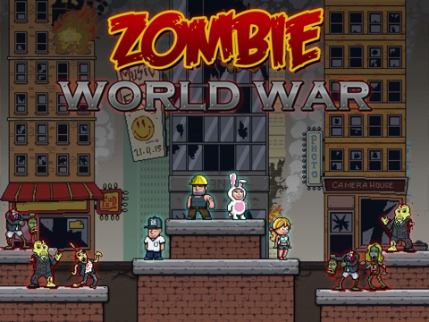 Screenshot #1 for A Game of Z - Zombie World War Free Modern Nations Edition
