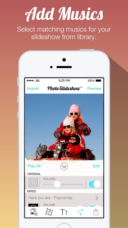 Photo Slideshow Free - Create Slideshow with Transitions and Background Music
