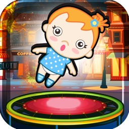 Bouncing Babies - Trampoline Rescue Game