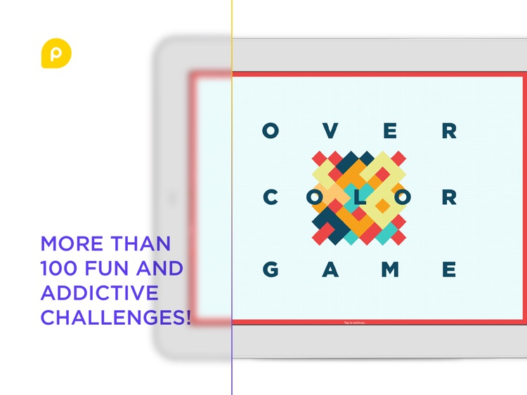 OverColor – spatial puzzle for children