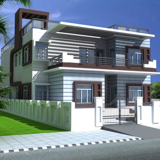 Duplex House Plans HD icon