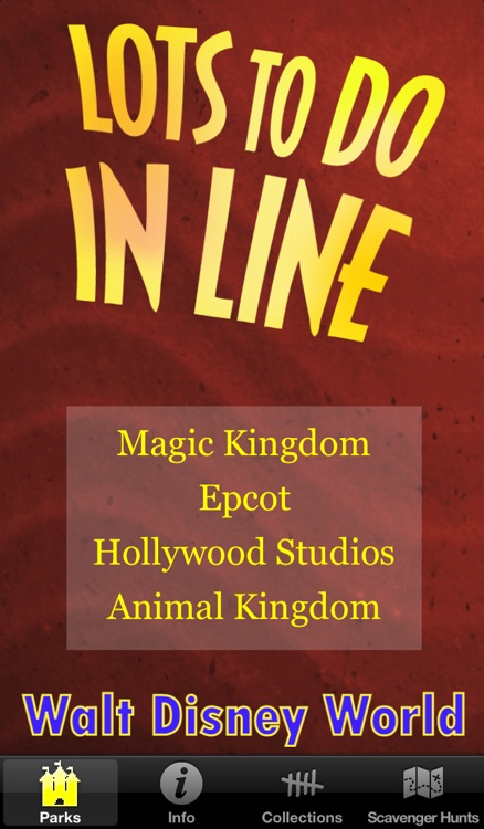 Lots To Do In Line: Walt Disney World Edition screenshot-0
