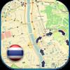 Thailand offline road map. (Free edition with Bangkok, Patong, Phuket & Chiang Mai)