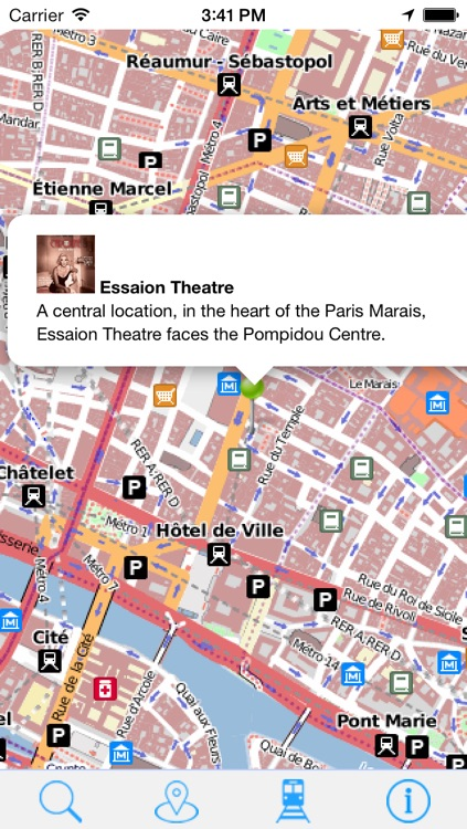 OffLine Map Paris - Guide Attractions and Transport screenshot-3