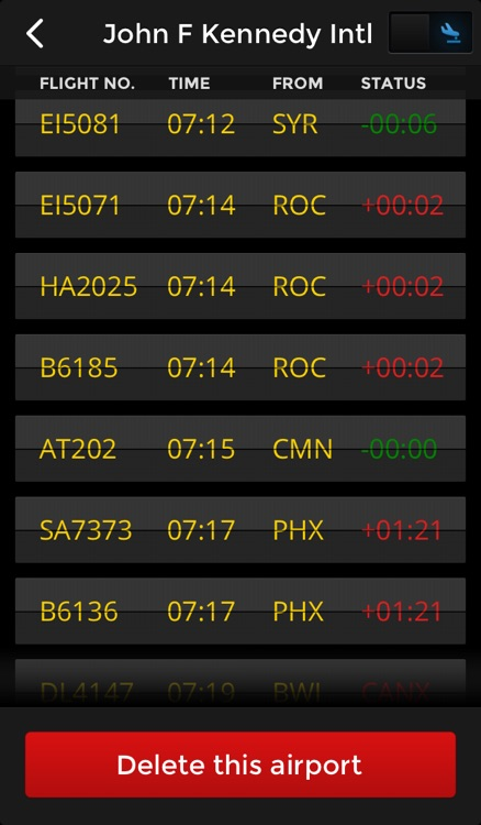 Flight Finder - Live Flight Status screenshot-3