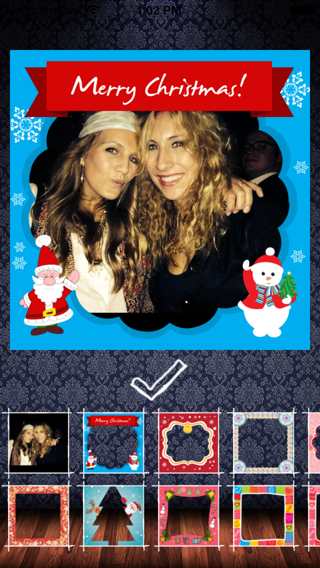 Frame my photo: デジタルフォトフレーム、グリーティングカード。メリー·クリスマス!のおすすめ画像1
