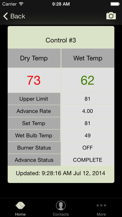 Kiln Monitor For iPhone screenshot-2