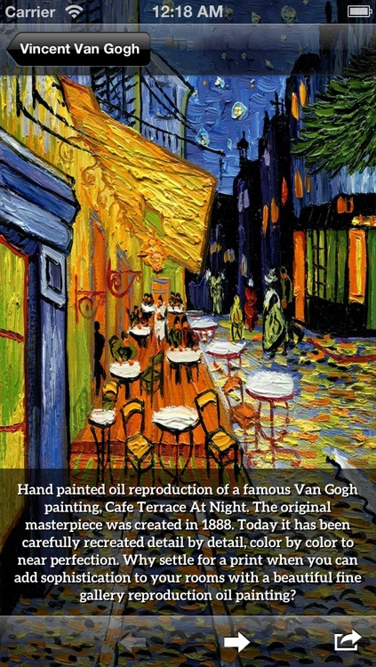Art Gallery HD - Van Gogh , Monet , Klimt , Renoir screenshot-4