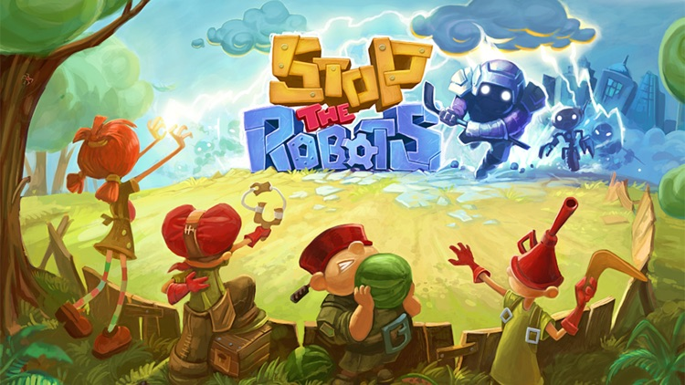 Stop The Robots screenshot-0