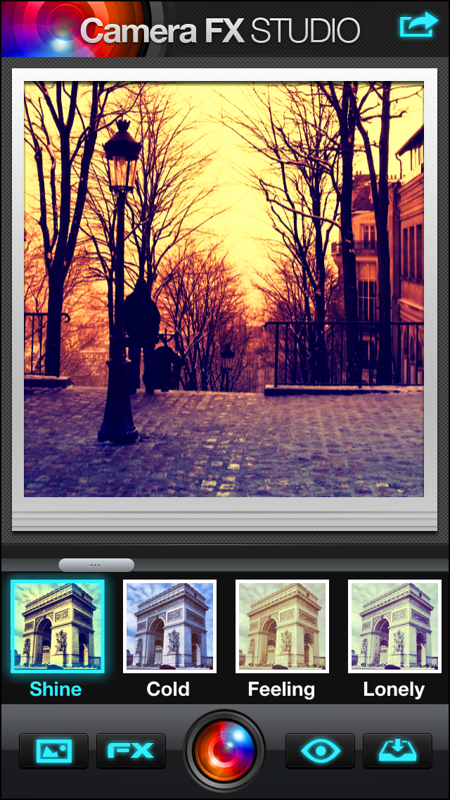 Screenshot #2 pour Camera FX Studio 360 Plus - camera effects plus photo editor