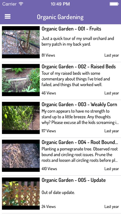Complete Video Guide for Gardening - Ultimate Videos for Organic Gardening and Tools Using Techniques screenshot-3