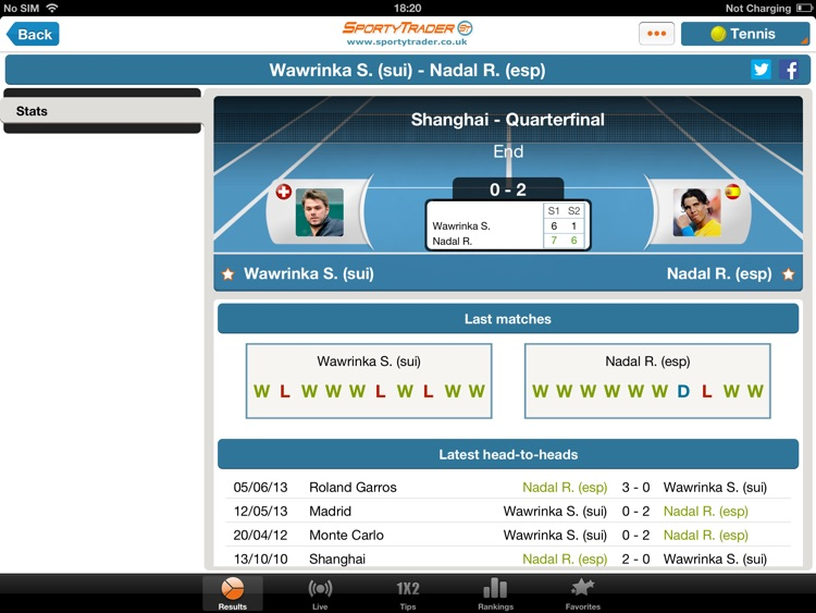 Live Scores HD - Football Tennis Basketball screenshot-3
