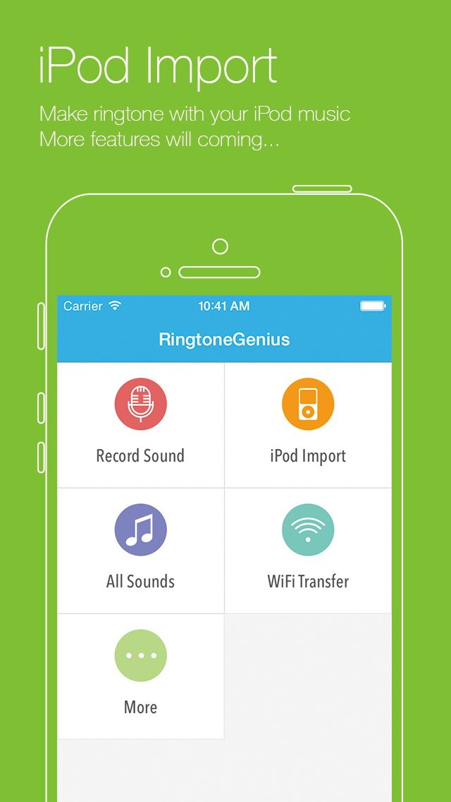 Ringtone Genius Free - Professional Ringtone Maker Скриншоты6