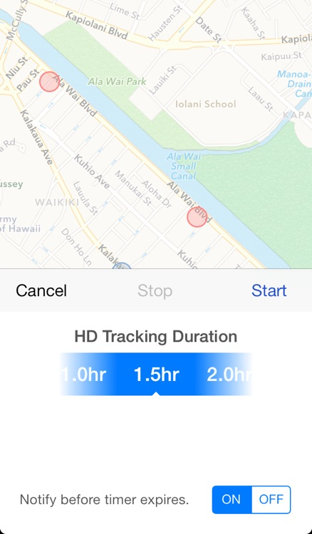 Spottizmo! - The GPS Logger for the Rest of Us screenshot-3