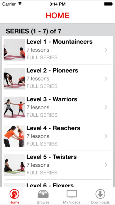 49poses - Children's Yoga Video Lessons screenshot two