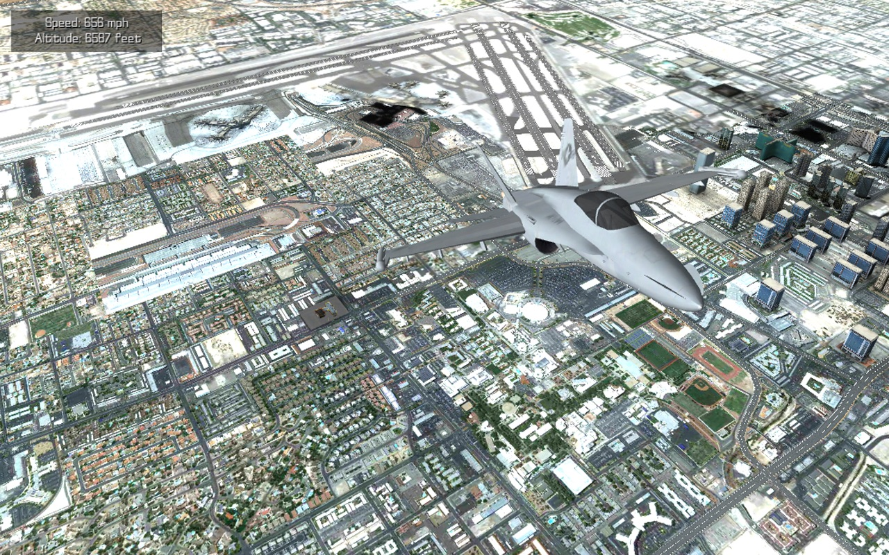 Screenshot do app Flight Unlimited Las Vegas