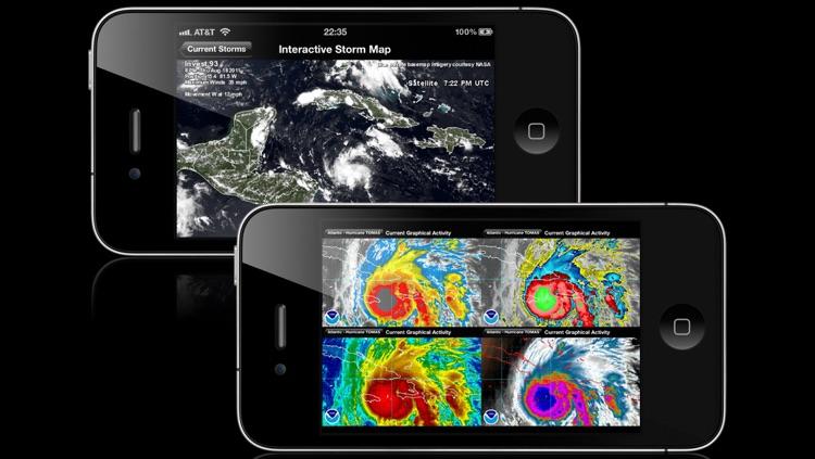 NOAA Hurricane Center screenshot-3