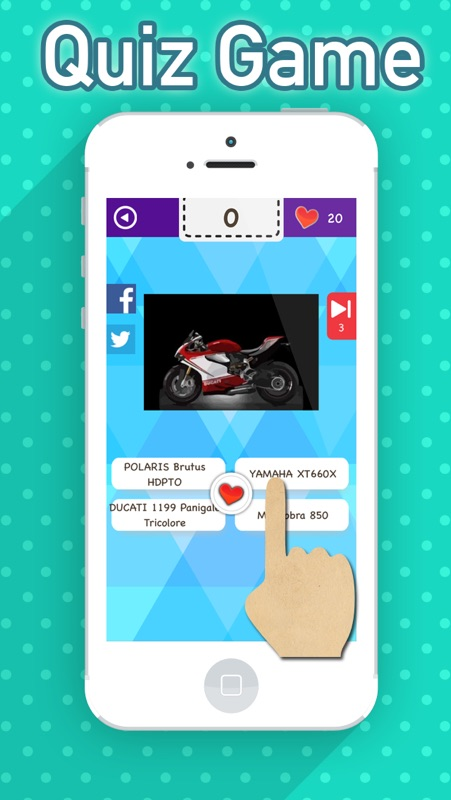 3 Minutes to Hack Motorcycle Fan Quiz :Trivia Questions & Answers