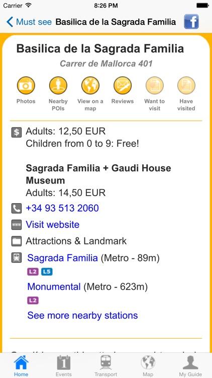 Barcelona Travel Guide Offline screenshot-4