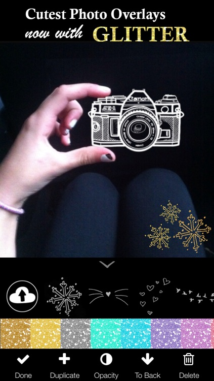 Doodles (Photo Editor for Beautiful DIY Overlay Crop Collage Effect on Instagram)