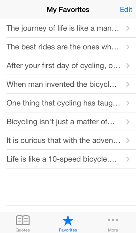 Cycling Quotes - Motivational sayings to keep you inspired to  bike screenshot-3