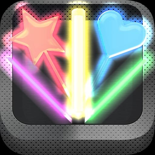 ペンライト* - 無料でカラオケ・ライヴ・コンサート・パーティーに使える高品質サイリウム