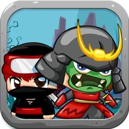 A Warrior vs Dino - Mini Ninja Hunters Rush