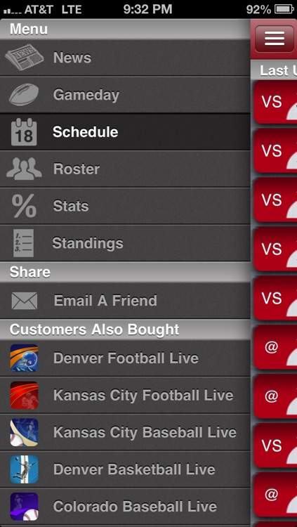 Nebraska Football Live screenshot-1
