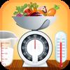 Cooking Omvandlare Snabbt och enkelt konvertera ingrediens vikter, volymer och temperaturer.