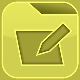GroupNotes Folder Note Taking