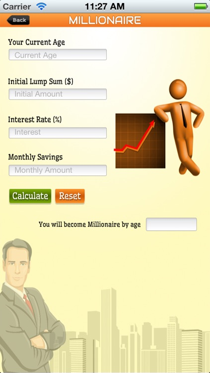 Millionaire Calculator screenshot-1