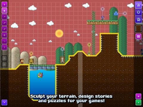 Sploder Arcade Creator на iPad
