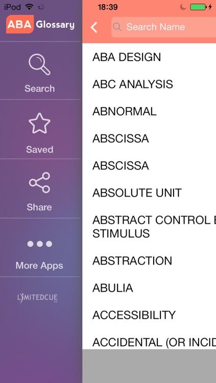 ABA Glossary screenshot-4