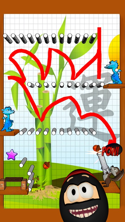 Crazy Ninja Egg Clumsy Jump screenshot-3
