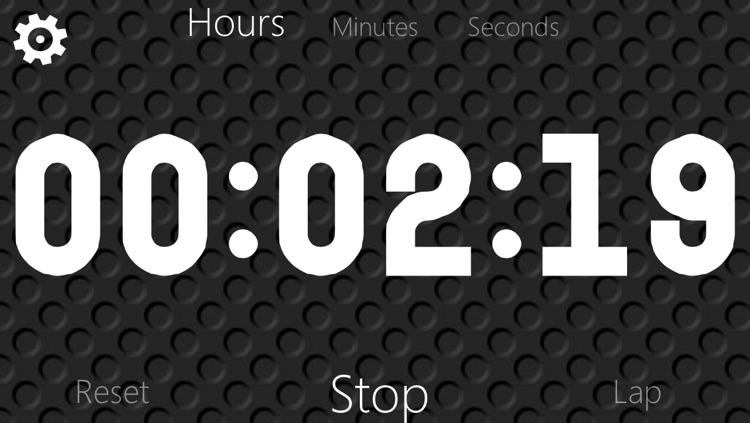 Stopwatch and Timer with big numbers