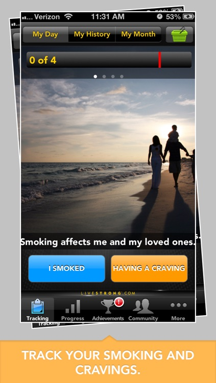 LIVESTRONG MyQuit Coach - Dare to Quit Smoking
