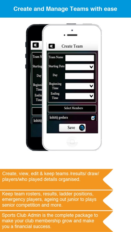 Sports Club Admin - Management Business solution screenshot-4