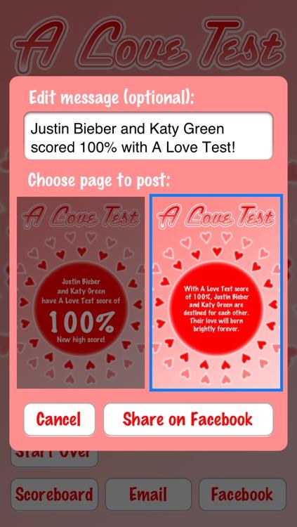 A Love Test Pro screenshot-3