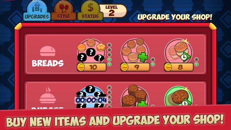 My Burger Shop - Fast Food Store & Restaurant Manager Game