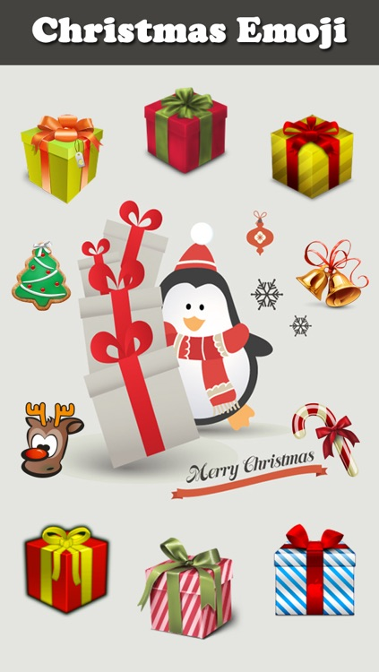 Christmas Emoji & Animated  Emoticon
