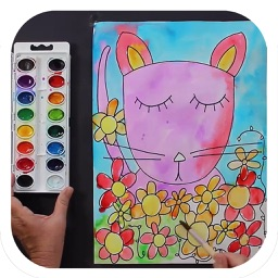 How to Draw and Watercolor Paint for iPad