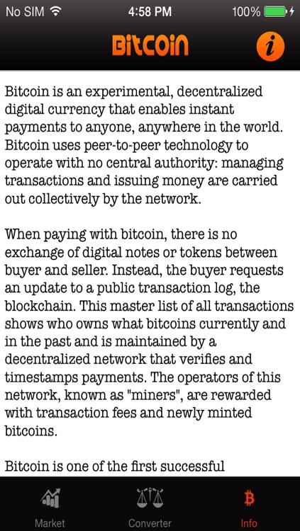BitCoin Market screenshot-3