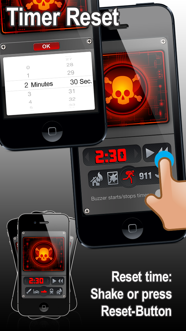 BANG! BOOM! Buzzer (Countdown Timer) | App Price Drops
